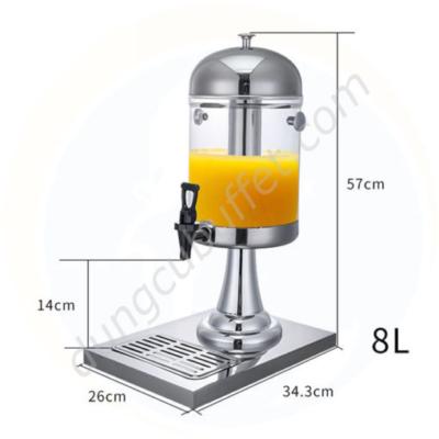Kích thước Bình giữ lạnh nước hoa quả giá rẻ 8 lít 1 ngăn BC2201-R