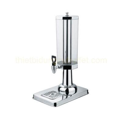 Bình nước buffet 3 lít 1 ngăn cổ chân nhựa bát giác BC2225-1