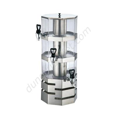 Bình đựng nước hoa quả nóng lạnh 16 lít bát giác BC2226-3