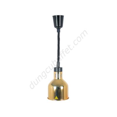 Đèn giữ nóng thức ăn buffet treo trần inox mạ vàng DA2503
