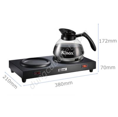 Kích thước Bộ bếp cà phê và bình hâm nóng cà phê Kinox 330395