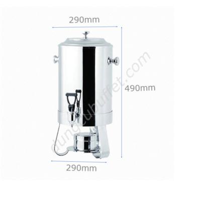 Kích thước Bình hâm nóng cà phê 10 lít inox AT80113