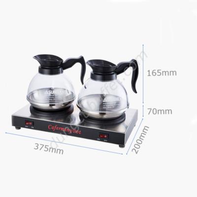 Kích thước Bộ bếp hâm Caferminy Pot và bình cà phê Sunnex CF23-B10
