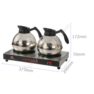 Kích thước Bộ bếp hâm Caferina và bình đựng cà phê Kinox CF23-B2