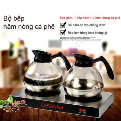 Bộ bếp hâm Caferina và bình đựng cà phê Kinox CF23-B2