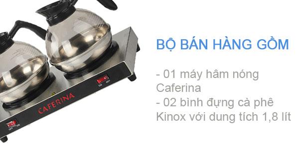 Thùng hàng bộ bếp hâm cafe
