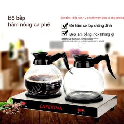 Bộ bếp cafe và bình thủy tinh cà phê caferina CF23-B3