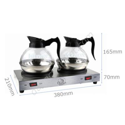 Kích thước Bộ bếp hâm cafe Cheng's và bình cà phê Klnox CF23-B5