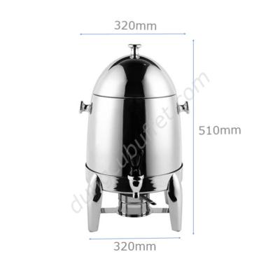 Kích thước Bình hâm nóng cafe sữa inox 12 lít CF23-T12