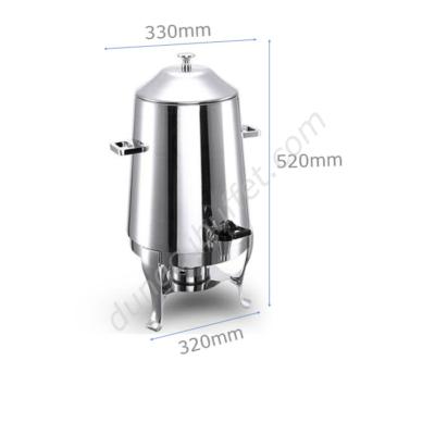 Kích thước Bình hâm nóng cafe 13 lít inox CF23-T17