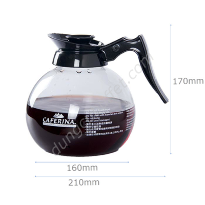 Kích thước Bình thủy tinh đựng cà phê Caferina CF2305