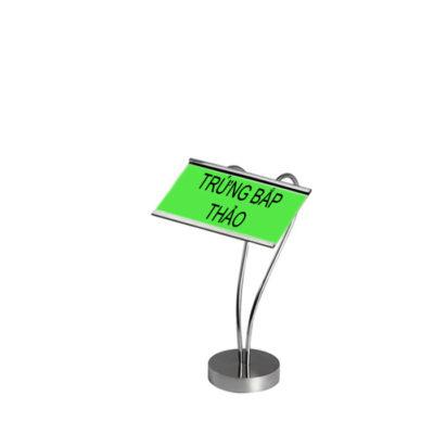 Kẹp menu để bàn cao 150 hình tim CM66-150
