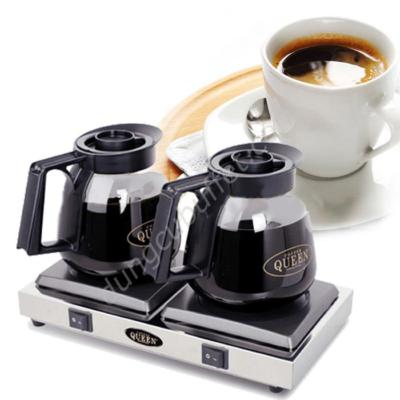 Bộ bếp hâm cafe bình thuỷ tinh Queen Coffee CQB-2