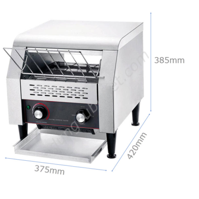 kích thước Máy nướng bánh mì băng chuyền vừa 2 lát sandwich TT-300