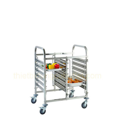 Xe đẩy khay cơm 12 ngăn TL0-XGN201-12