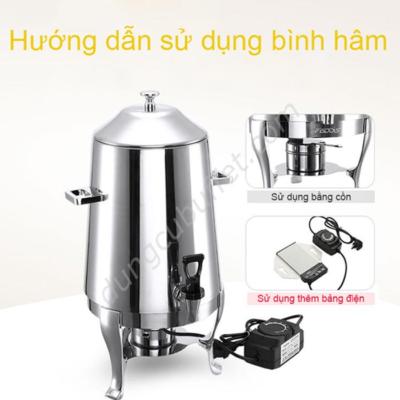 Hướng dẫn sử dụng bình hâm cafe