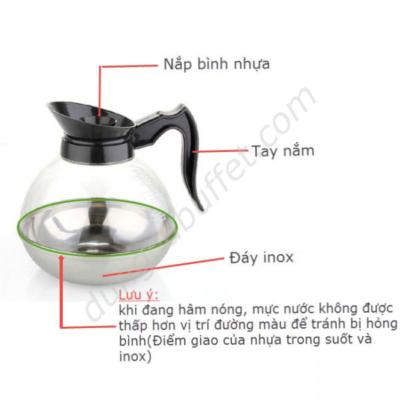 Hướng dẫn sử dụng bình đựng cafe