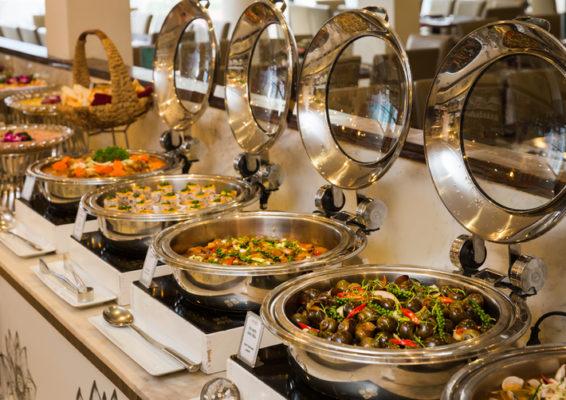 Thực đơn buffet sáng cao cấp